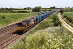 66004 6M16 brumber hill 04.07.2019 (Dan-Piercy) Tags: dbcargo ews class66 66004 brumberhill colton southjn 6m16 wilton knowsley bins