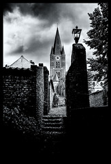 2019-06-16-Thorn-100Pt (Pontalain) Tags: architecture atmosphere black blackandwhite building castle church city cloud darkness eéglise history house labels landmark monochrome monochromephotography photography ruins sky spire steeple stockphotography style tower tree water white world ciel l dilsenstokkem limbourg belgique