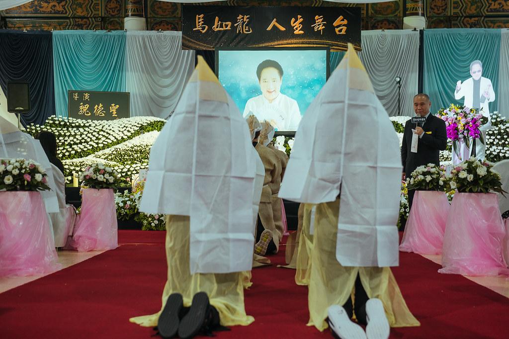 《喪禮攝影》新北市立板橋殯儀館 / 景福廳 / 馬如龍大哥追思告別式