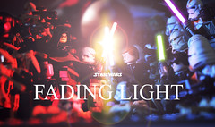 LEGO Star Wars Fading Light Poster (BRICKSmovies) Tags: lego star wars fading light youtube lightsaber saber battle jedi sith clone clones phase 2 droid super weapon blaster sci fi science photoshop lens flare death poster trailer film stop motion animation blue red green count dooku neyo commander captain rex emperor palpatine darth sidious lord tyrannus 212 212th 501 501st 42 42nd 41 41st legion scout piece pieces special forces force squadron airborne trooper troopers