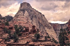 Zion National Park - an American jewel in the Southwest (The Shared Experience) Tags: zionnationalpark american jewel southwest usa sonydslr nikcollection2 photoshoptexture acrtexture nature landscape wildlife sandstone desert mountains wilderness nps znp 2017