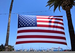 HAPPY 4TH OF JULY! (Bennilover) Tags: 4thofjuly catalinaisland bay boats flag flags patriotic happy holiday islands avalon town pixel