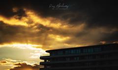 Golden Glow (RTA Photography) Tags: golden glow abbeysands torquay devon torbay sky clouds sunset light rtaphotography tamron2470mmf28vcusd theenglishriviera outdoors nature
