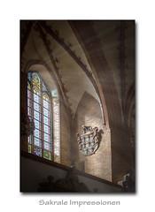 Sakrale Impressionen 12 (Andreas Liwnskas) Tags: sakralbauten sakralarchitektur sakraleimpressionen andreasliwinskas architektur ausflugsziel schleswigholstein backsteingotik norddeutschland innenansichtenkirchen kirche church
