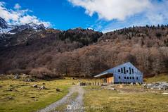 El refugio (SantiMB.Photos) Tags: 2blog 2tumblr 2ig artigadelin esbòrdes valldaran valdaran otoño autumn montañas mountains pirineos pyrenees lleida refugio refuge geo:lat=4267849820 geo:lon=070541460 geotagged bordeses cataluna españa