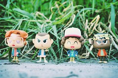 Find your tribe. Love them hard. (an_abregana) Tags: strangerthings funko funkovynl eleven toys toyphotography dustin lucas barb
