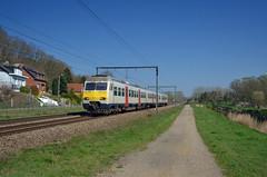 L-03 2486 @ Testelt (Wesley van Drongelen) Tags: nmbs sncb l ltrein break motorstel automotrice ms80 am80 testelt train trein zug