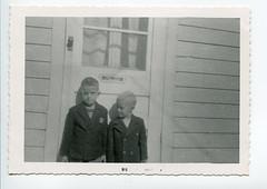 Ken and Jim Climpson (genealogyphotos) Tags: vintage carleton place ontario canada 1958