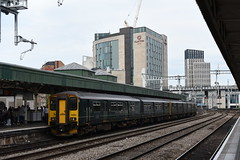 150202+243, Cardiff Central (JH Stokes) Tags: class150 class1502 dmu dieselmultipleunits sprinters cardiffcentral 150202 gwr greatwesternrailway trains trainspotting tracks transport railways photography publictransport