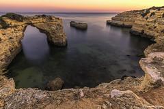 (Fernando Delgado) Tags: landscape paisagem paisagemmarinha seascape water rocks rockyshore algarve portugal