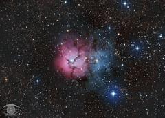 M20 - The Trifid Nebula (Dark Arts Astrophotography) Tags: trifid nebula m20 ngc6514 astrophotography astronomy space sky stars star science dso dark deepsky night nature natur nightsky ngc kingston kingstonist ygk milkyway ontario o
