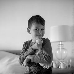 Friends for life (The Paul Reid) Tags: rolleiflex28e portrait ilforddelta400 xtol