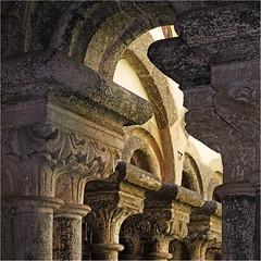 Zwettl Abbey - Detail (pixel_unikat) Tags: zwettl abbey monastery columns cloister granite romanique gothic architecture loweraustria ancient historic chapiter