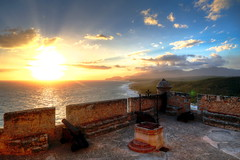 Castillo del Morro Sunset (Strocchi) Tags: castillodelmoro cuba sunset tramonto hdr santiagodecuba castle sea landscape canon eos6d 24105mm