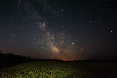 Crystal Clear Milky Way (Inner Vision Productions) Tags: mattblythe innervision starlight light lowlight crop agriculture horizon landscape farm field corn nebula starry wideangle 1024mm tamron d5200 nikon latest 2019 summer unitedkingdom uk england single true real colour contrast focussed detail clear bright dark core galactic central stars sky skyatnight apseheath astronomy longexposure astrophotography night galaxy milkyway isleofwight