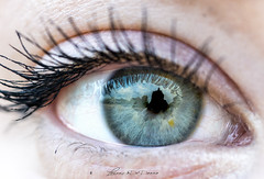 Gosia'eye (lulo92) Tags: eye eyes blue blueeyes detail dettagli contrast girl polish cracovia krakow sigma sigma105 sigma105macro 105mco top nikon