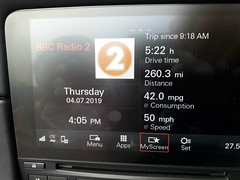 Photo of Best recorded MPG of the Trip - 42 mpg but did get up to 46 mpg