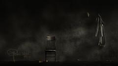 the befogged taleteller (Ephorea) Tags: autumn fog fairytale smoke atmosphere story tale light black night eclipse twilight ray gloom obscurity ephorea moon dark darkness sleep dream interior whisper