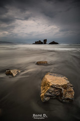Playa Requexinos (Hervé D.) Tags: playa requexinos asturies asturias espagne coast cote atlantique mer seascape