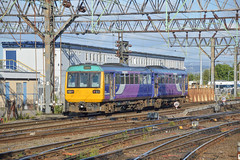 142005, Manchester Piccadilly (JH Stokes) Tags: pacer railbus dmu dieselmultipleunits northernrail manchester manchesterpiccadilly 142005 trains trainspotting t railways tracks photography publictransport