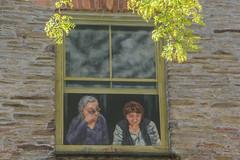 Who is watching who in Kingsbridge (Matchman Devon) Tags: kingsbridge wall painting duncombe street devon south hams