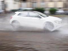 Aquaplanning (VauGio) Tags: rain pioggia automobile auto car mobile 17mmzuikoolympus olympus penf torino turin