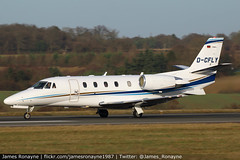 D-CFLY | Cessna 560XLS Citation Excel + | Air Hamburg (james.ronayne) Tags: dcfly cessna 560xls citation excel air hamburg aho aeroplane airplane plane aircraft jet jetliner airliner aviation flight flying london luton ltn eggw canon