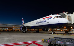 BAW_A21N_GNEOU_BRU_JUN2019 (Yannick VP) Tags: civil commercial passenger pax transport aircraft airplane aerpolane jet jetliner airliner british airways ba baw airbus a321 321200 neo newengineoption a21n gneou nightshot airside platform static tarmac brussels airport bru ebbr belgium be europe eu june 2019 aviation photography planespotting airplanespotting