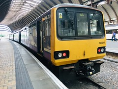 Northern Class 144 (144017) - York (saulokanerailwayphotography) Tags: northern class144 144017 pacer