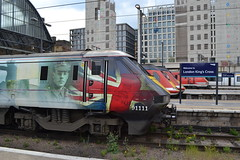 London North Eastern Railway 91111 (Will Swain) Tags: london kings cross station 3rd may 2019 greater city centre capital south train trains rail railway railways transport travel uk britain vehicle vehicles england english europe transportation class lner northeastern 91111 91 111