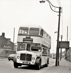 Sheffield 869 (Lost-Albion) Tags: sypte aecregentv 7869wj sheffield 1972