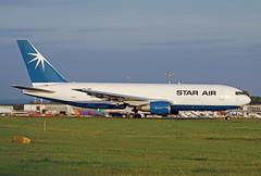 OY-SRF (afellows80) Tags: boeing b767 b762 starair oysrf egnx ema