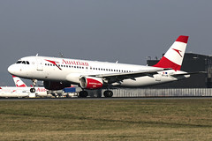 OE-LXB | Austrian Airlines | Airbus A320-216 | CN 3482 | Built 2008 | VIE/LOWW 04/04/2019 | ex EI-DSP, D-ABZF (Mick Planespotter) Tags: aircraft airport 2019 plane planespotter airplane aeroplane spotter nik sharpenerpro3 oelxb austrian airlines airbus a320216 3482 2008 vie loww 04042019 eidsp dabzf a320 flight schwechat vienna