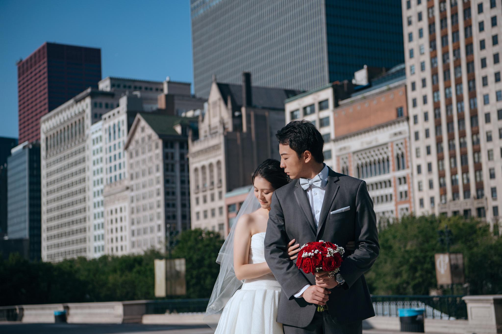 芝加哥婚紗, 海外婚紗, CHICAGO, EW, Donfer, 世界旅拍, 東法, 藝術婚紗, 芝加哥豆子