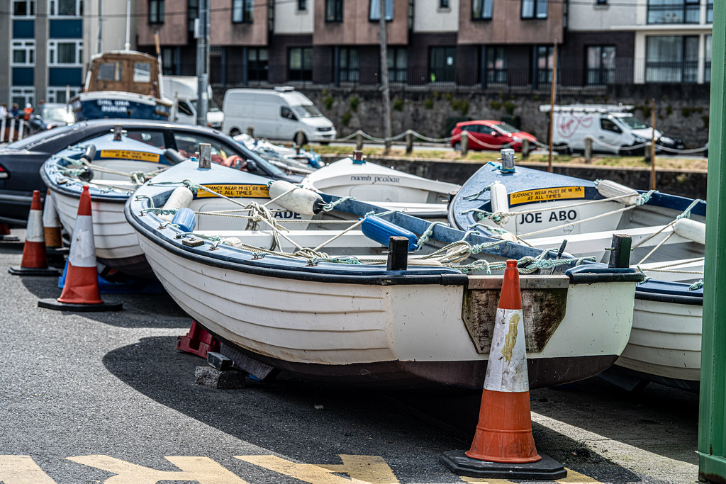 BULLOCK HARBOUR [ONE OF TWO HARBOURS IN DALKEY]-154055