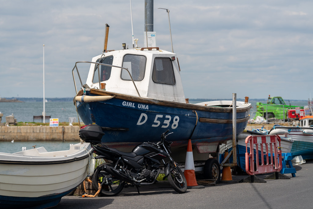 BULLOCK HARBOUR [ONE OF TWO HARBOURS IN DALKEY]-154050