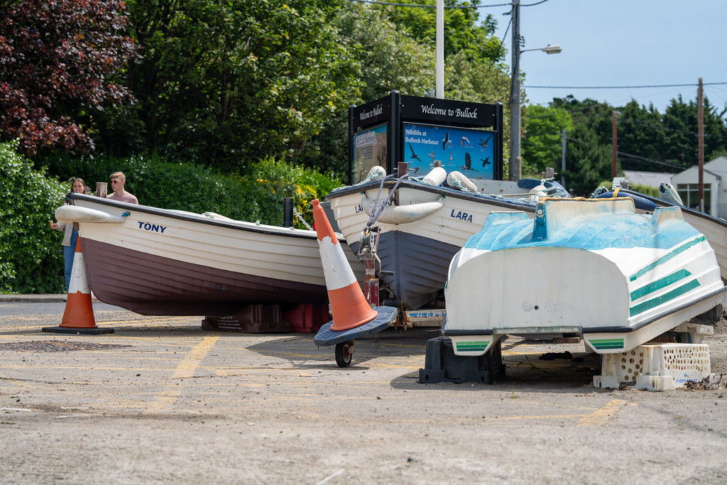 BULLOCK HARBOUR [ONE OF TWO HARBOURS IN DALKEY]-154048