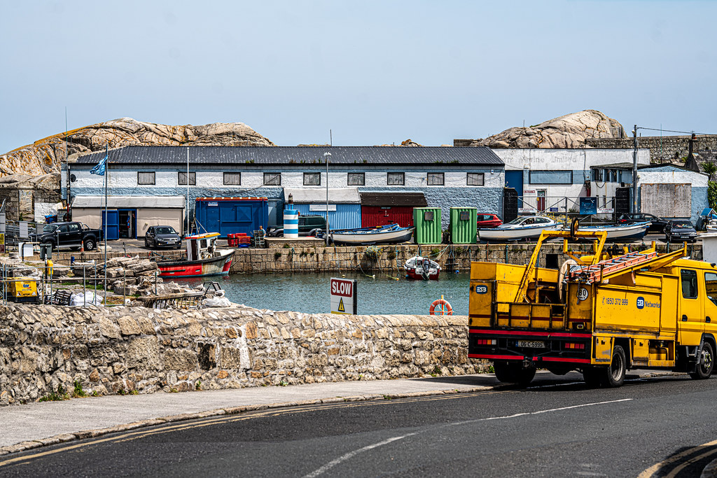 BULLOCK HARBOUR [ONE OF TWO HARBOURS IN DALKEY]-154029