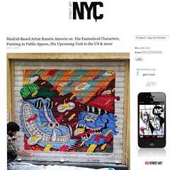 Madrid-based Ramon Amaros (LoisInWonderland) Tags: ramonamaros madridstreetart streetart shutterart muralart characterart illustration