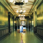 South Bend Indiana - Administration Building - Hallway of Murals - Now Covered  Up - Notre Dame Campus - Roman Catholic  School - thumbnail