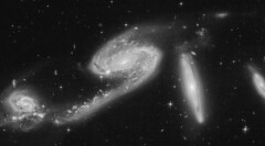 AM 1957-471 (geckzilla) Tags: spiral interaction galaxies dust star formation hst hubble prop15446 15446 tidal tails