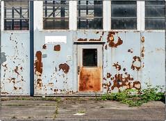 Rusty Door (NoJuan) Tags: filmshooter 35mmfilm 35mmslr kodakfilm kodak kodakektar100 ektar100 canon a2e canona2e eos eosa2e canonef85mm
