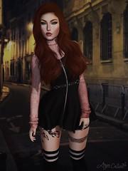 — Arya ♛ (queen.chiantelle) Tags: secondlife aryacalien arya girl dress redhead sexy cute swallow envious stealthic catwa maitreya aviglam boldbeauty psychobyts elleetlui