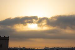 Amanecer en Valencia 06 (dorieo21) Tags: nube cloud nuage amanecer sunrise aurore nikon torre tower tour sun sol soleil