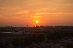 Amanecer en Valencia 08 (dorieo21) Tags: soleil sol sky sun cielo ciel nube cloud nuage sunrise amanecer aurore nikon d7200 valencia
