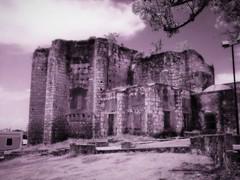 Old Ruins In Santo Domingo (sirhowardlee) Tags: old ruins abandoned historical santodomingo dominicanrepublic latinamerica viejo antiguo blackandwhite