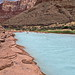Little Colorado River confluence - view looking upriver