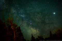 core (khoa_sus2) Tags: olympus penf digital mzuiko 25mm f18 longexposure astrophotography montmégantic sepaq jupiter sagittarius milkyway galaxy darksky night
