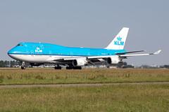 PH-BFS KLM Royal Dutch Airlines Boeing 747-406(M) (buchroeder.paul) Tags: eham ams amsterdam schiphol airport flughafen the netherlands niederlande europe europa ground boden phbfs klm royal dutch airlines boeing 747406m