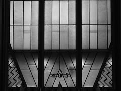 A17810 / chrysler building detail (janeland) Tags: newyorkcity newyork 10174 chryslerbuilding architecturaldetail desaturated pe016 blackandwhite bw symmetry 405lexington may 2018